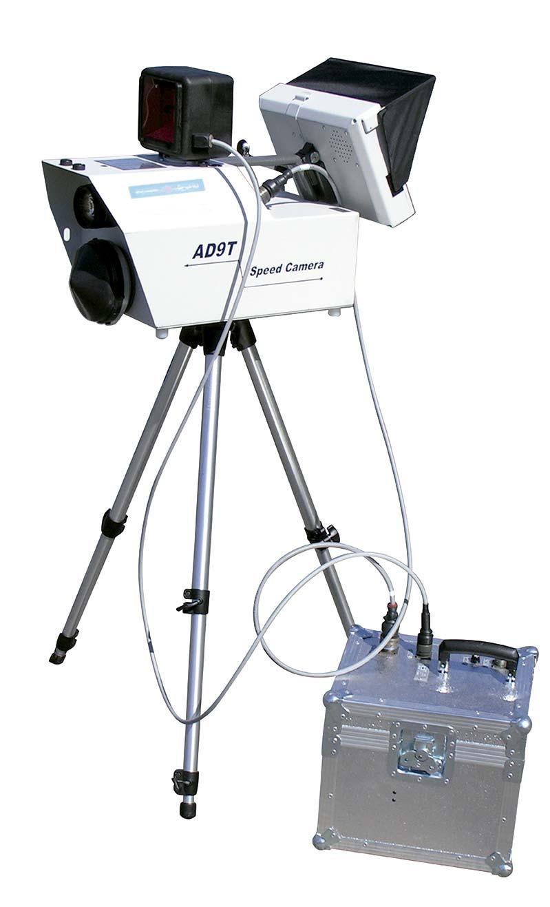 Control de velocidad: Radar para infracciones- cinemometroAD9 tecnología doppler