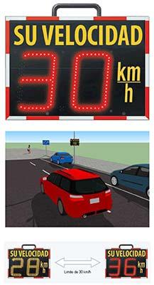 Control de velocidad inforadar 230: radar informativo
