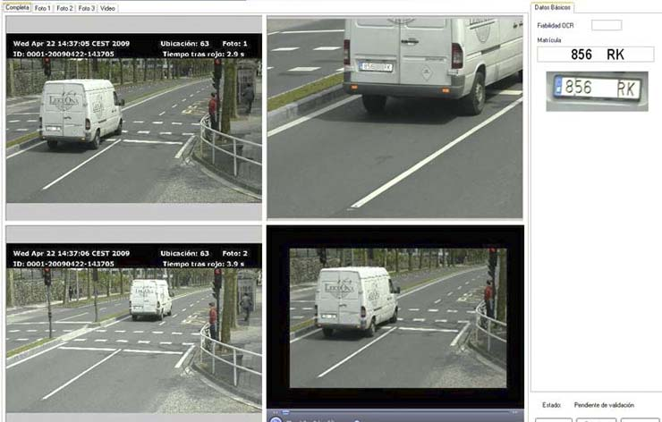Software CT para el control de tráfico